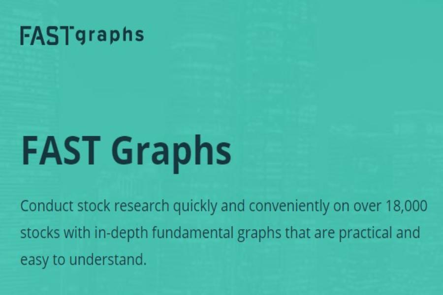 FASTGRAPHS nástroj na fundamentálnu analýzu akcií