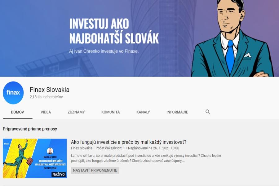FINAX zaujímavé diskusie, podcasty a pasívne investovanie