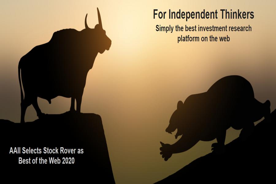 StockRover najlepšia research platforma pre akcie a ETF